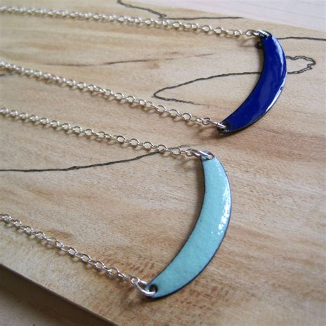 Handmade Enamel Jewelry - handmade copper enamel jewelry by winther by