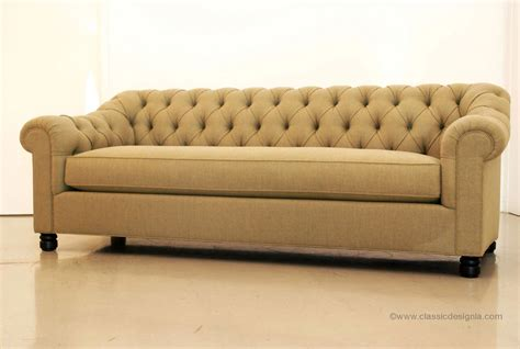 Sofa Chesterfield Classic Design Custom Chesterfield Sofas