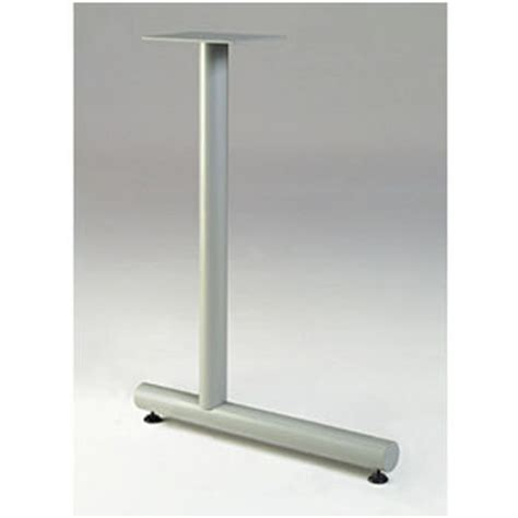 Gibraltar Table Bases by Gibraltar Offset T Shaped Table Leg 27 3 4 Quot H X 18 Quot D 11 Lbs