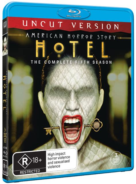 american horror story hotel uncut version blu ray review