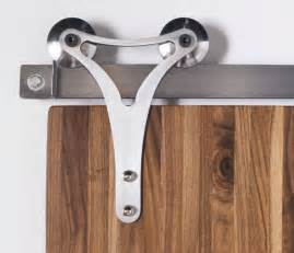 Triangle contour barn door hardware rustica hardware