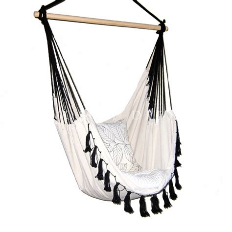Hanging Hammock Chair Deluxe Hanging Hammock Chair Relax In Luxury Provincial