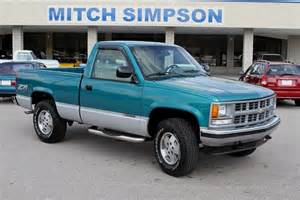 1994 chevrolet cheyenne regular cab z 71 4wd original only