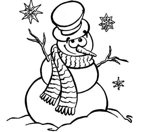snowman coloring frosty coloring page coloring home