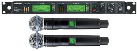 Mic Ktv Beta58 shure ur24d beta58无线双手持话筒 产品 中国音响网