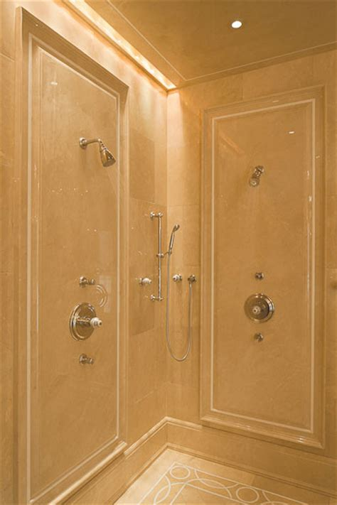 April Bath Shower Products crema marfil shower walls bathroom portland maine by
