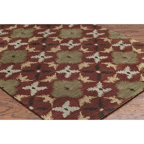wool rug rizzy home volare area rug 5x8 hand tufted wool save 50