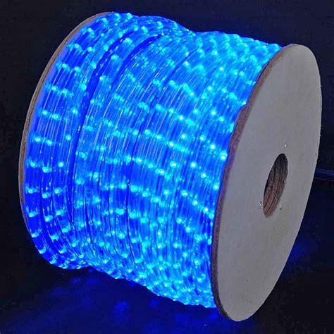 150' LED Blue Rope Light Spool 1/2 Inch, 120 Volt