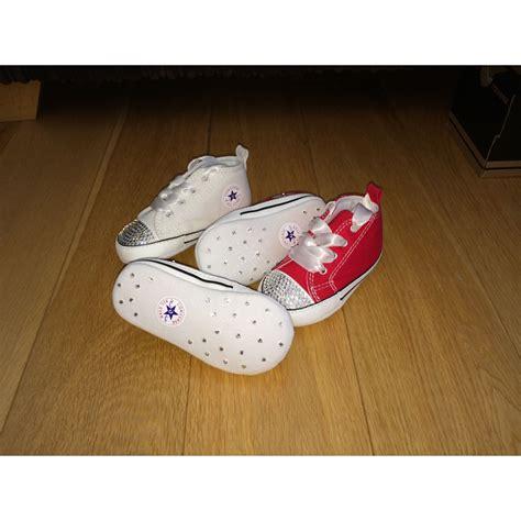 Baby Crib Converse by Swarovski Baby Crib Converse Soft Sole