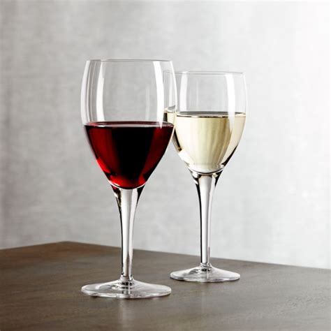 Otis Wine Glasses   Crate and Barrel