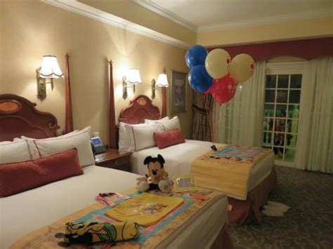 decorating hotel room for birthday view from our balcony picture of hong kong disneyland hotel hong kong tripadvisor