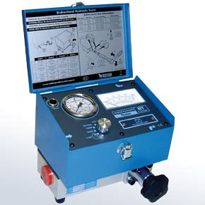 high pressure hydraulic flow meter hydraulic flow tester security sistems