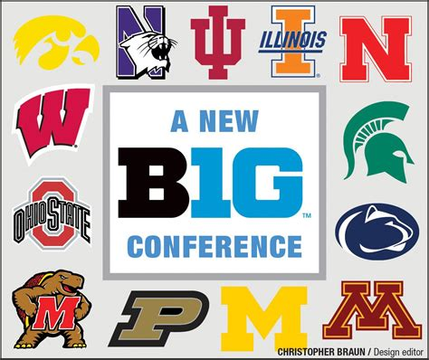Mba Football Schedule 2014 by Big 10 Conference 2015 Gallery
