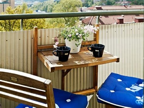 Tables De Balcon by O 249 Trouver Une Table De Balcon Rabattable Joli Place