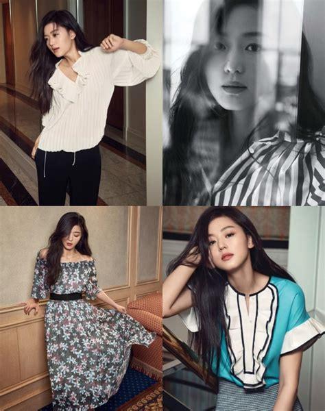 Model Rambut Jun Ji Hyun by Til Elegan Jun Ji Hyun Bikin Terpukau Di Pemotretan