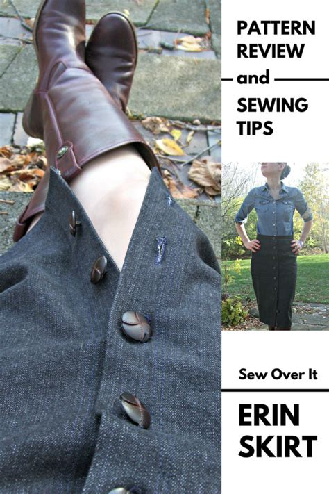pattern review weekend 2016 erin sews erin sew over it erin skirt pattern review