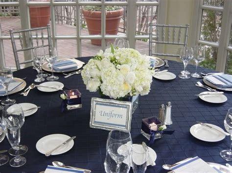 best wedding ideas: Lovely Navy Blue Wedding Centerpieces