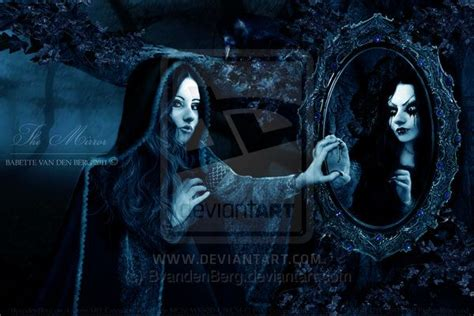 black mirror magic the mirror by babsartcreations deviantart com on