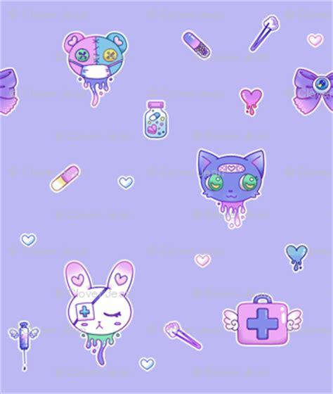 cute medical pattern cute hospital medical pattern purple fabric