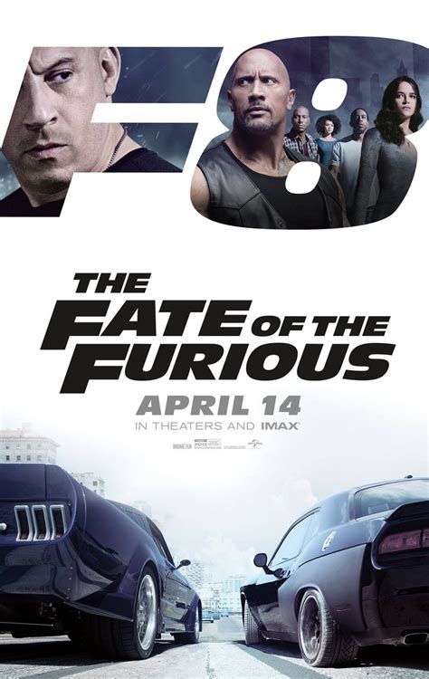 film baru coming soon universal rilis poster baru the fate of the furious