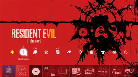 theme psp resident evil resident evil 7 biohazard theme on ps4 official