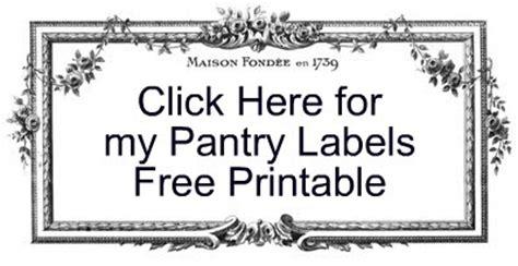 strangers pilgrims on earth pantry labels free printable