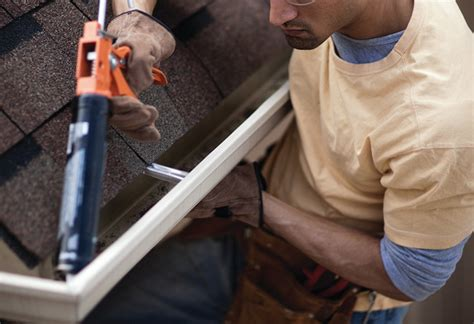 how to repair a leaky gutter a dyi how to repairing leaky downspout joints at the home depot