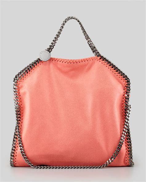 Purse Deal Stella Mccartney Designer Tote by Stella Mccartney Falabella Shaggy Deer Foldover Tote Bag