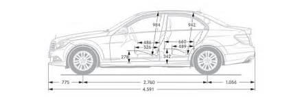 c117 comparing the 2014 mercedes c117