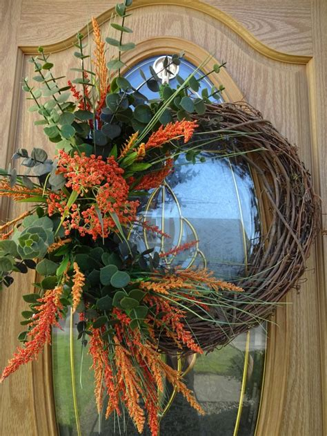 Autumn Wreath Home And Living Elegant Autumn Wreath Outdoor Fall Wreaths Front Door