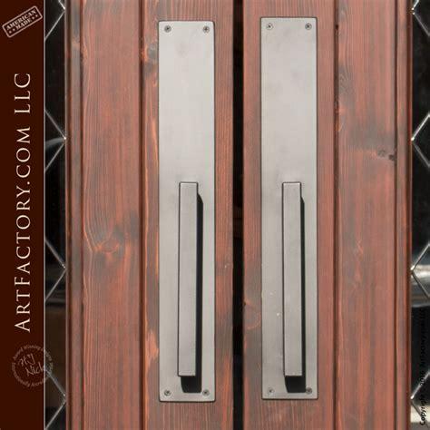 contemporary door handles custom door pulls matching