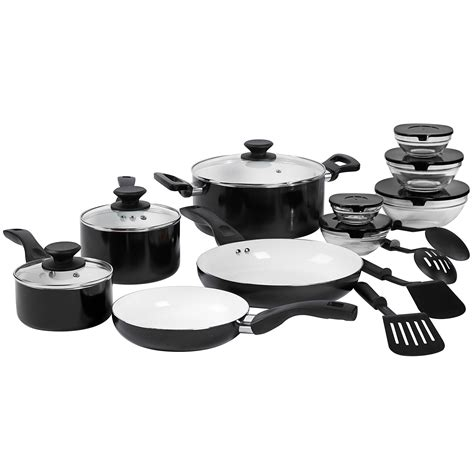 Philippe Richard Ceramic Nonstick Cookware Set by Upc 048552477741 Philippe Richard 17 Pc Ceramic