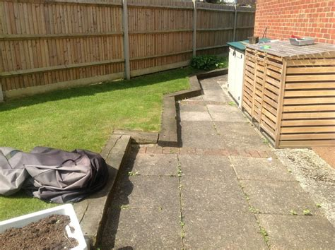 Laying Garden Sleepers by Lay 16 Meters Of Railway Sleepers Landscape Gardening