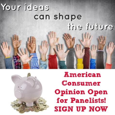 Surveys That Give You Money - make money from surveys american consumer opinion open