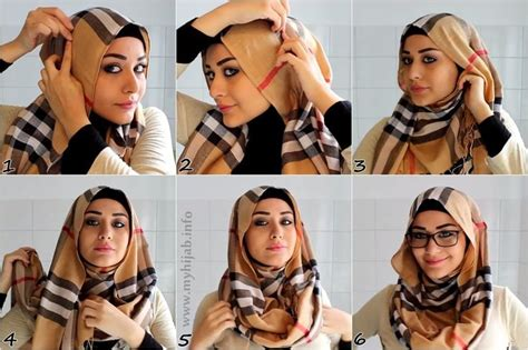 simple hijab tutorial great for glasses how to wear hijab with glasses 6 easy steps tutorial