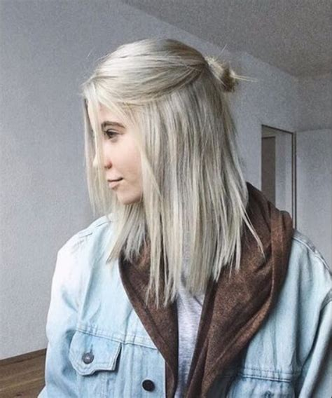 med hair woth gray n blonde 100 amazing shoulder length hairstyles my new hairstyles
