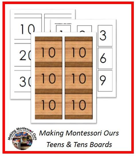 printable montessori math materials making montessori ours education printables montessori