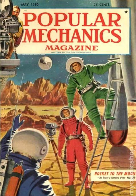 brm a mechanics tale books popular mechanics destination moon issue comic books
