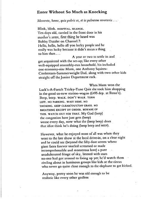 Bruce Dawe Essay by Bruce Dawe Poems