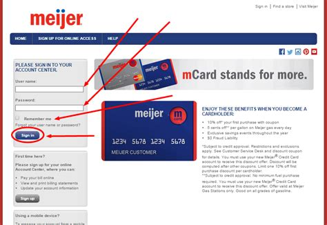 how to make credit card payment bank of america www meijer creditcard payment and login pay