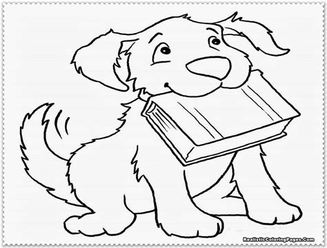 coloring pages of real puppies realistic puppy coloring pages print gekimoe 63200