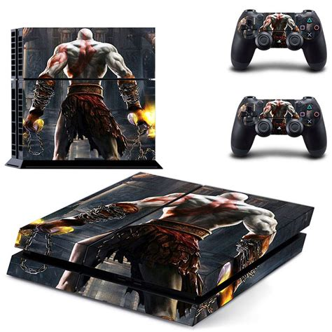 Ps4 Sticker God Of War ps4 skin protective vinyl decal skin sticker ps4 for god