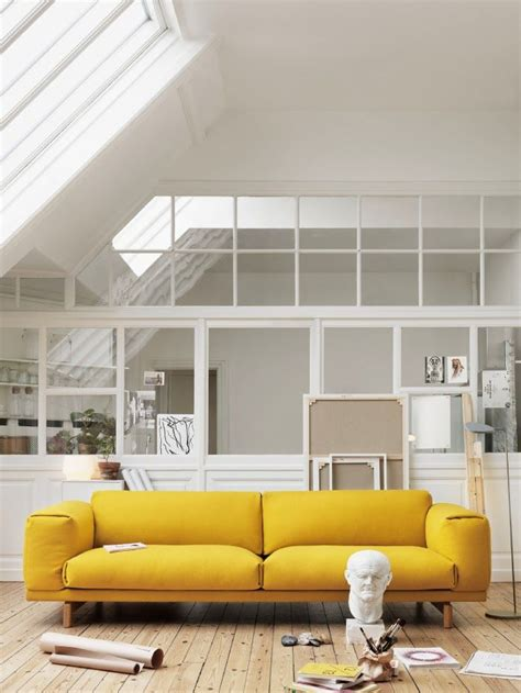 how to shoo a couch how to design with and around a yellow living room sofa