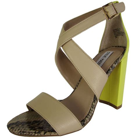 steve madden high heel shoes steve madden womens christa high heel sandal shoes tanga