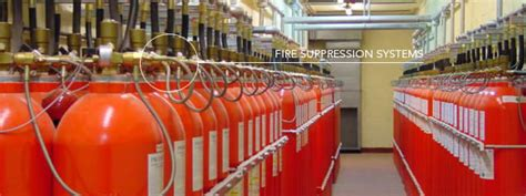 Engine Room Suppression Systems by Suppression System Inert Chemical Gas Design