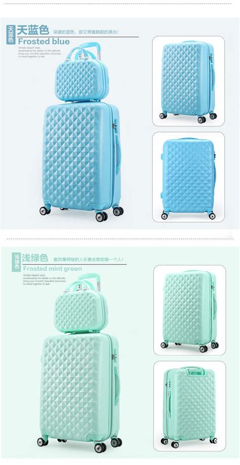 18 Inch Luggage Bag 18 inch abs spinner hardside luggage travel bag set