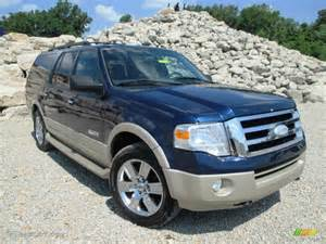 Ford Expedition 4x4 2007 Ford Expedition El Eddie Bauer 4x4 Exterior Photos