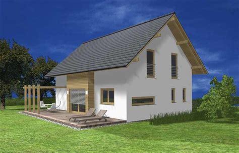 öko Holzhaus by Holzhaus 135 B Jelovica