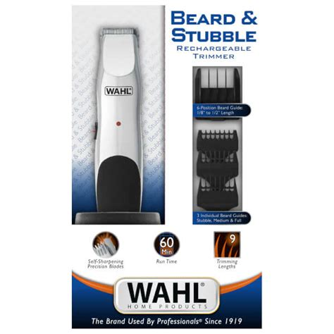wahl haircut and beard review wahl beard and stubble rechargeable trimmer buy online at ry