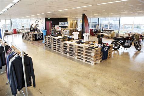 Deus Ex Machina Siluet Store Sls deus ex machina showroom designed by bricks interior design showroom design
